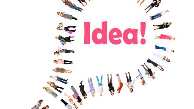 Bulb is a sign for an idea!